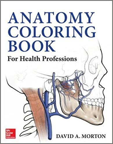anatomy coloring book for health professions 1st edition - Anatomy Coloring Books