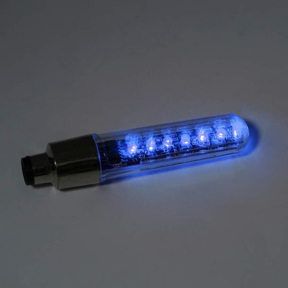 Luces de bicicleta cateye luces de bicicleta habla For utilizar la doble cara de la rueda de la bici habló la válvula luces LED Lámparas de ciclo del neumático del neumático de