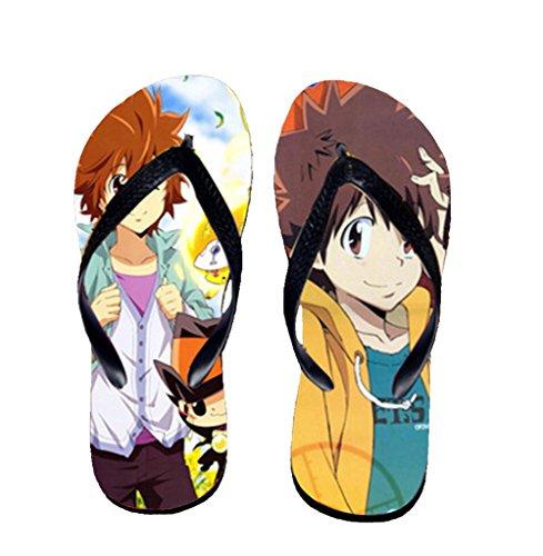 Bromeo Hitman Reborn Anime Unisex Flip Flops Chanclas 621