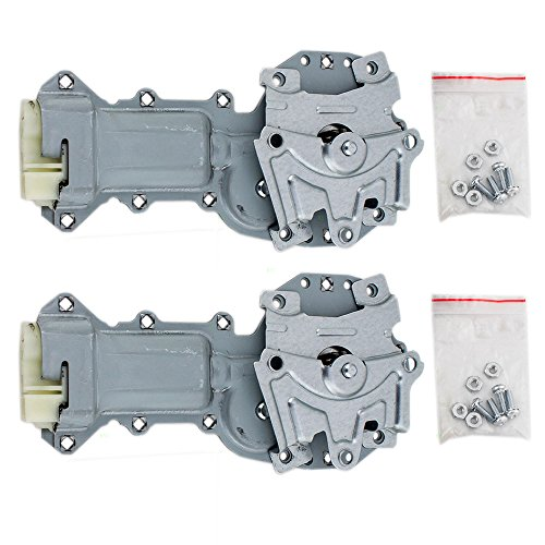 Pair Set Power Window Lift Regulator Motors Replacement for Buick Cadillac Chevrolet Pickup Truck SUV 12362900 AutoAndArt