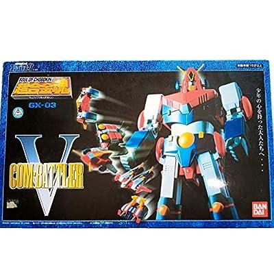 Mazinger: GX-03 Combattler V Die Cast Action Figure Soul of Chogokin: Toys & Games