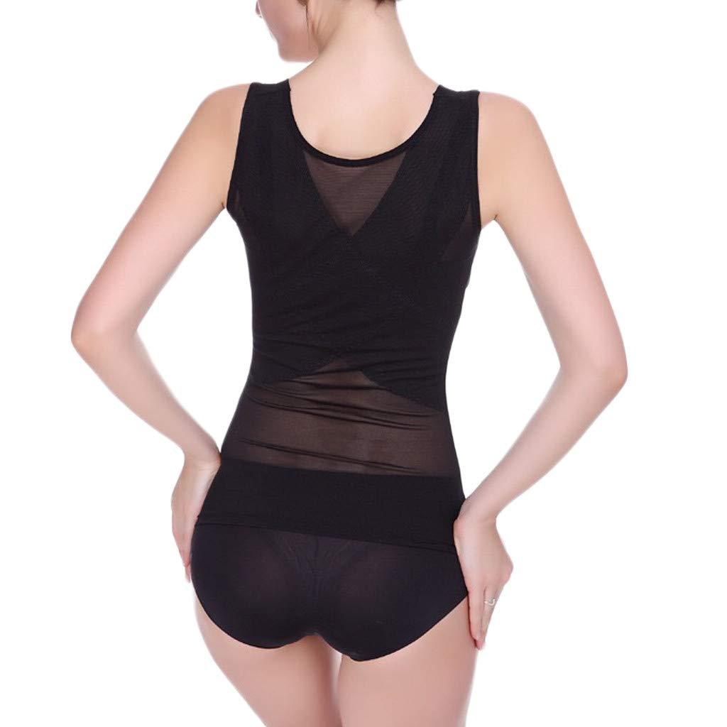 Cardigo Woman Firm Control Body Shaper Waist Trainer Shaper Corset Shapewear Black by Cardigo (Image #3)