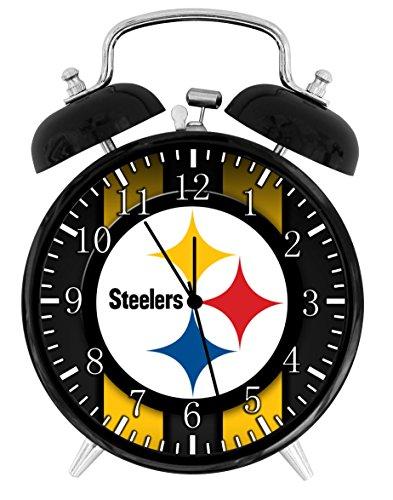 Steelers Alarm Desk Clock 3.75