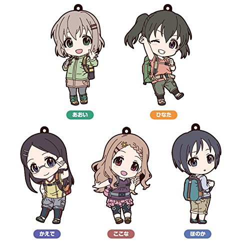 Good Smile Encouragement of Climb Third Season Nendoroid Plus Rubber Charms 7 cm Assortment