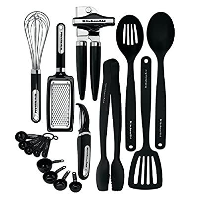 KitchenAid 15-Piece Tools and Gadget Set, Black by KitchenAid