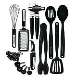 KitchenAid Classic Juego de herramientas y utensilios de 17 piezas