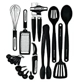 KitchenAid 17-Piece Tools and Gadget Set, Black (Kitchen)