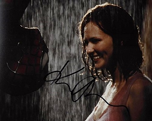 Kirsten Dunst Autographed - Hand Signed SPIDER-MAN Kiss Scene 8x10 Photo - Spiderman