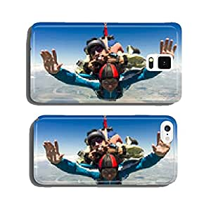Skydiving photo. Tandem. cell phone cover case iPhone6 Plus