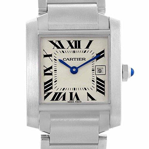 Cartier Tank Francaise quartz womens Watch W51011Q3 (Certified Pre-owned)