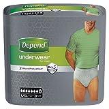 Depend for Men X-Large Super Pants, 9 Pants