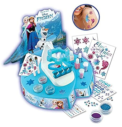 Disney Frozen Salón de manicura y tatoos, unico (Simba 5953016 ...