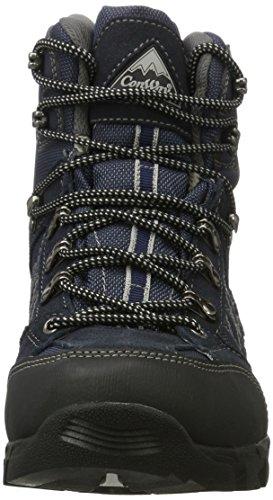 Conway 607418, Zapatos de High Rise Senderismo para Hombre, Azul (Navy/Grau), 42 EU