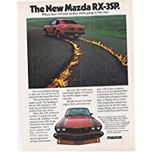 1977 Vintage Magazine Advertisement The new Mazda RX-3SP
