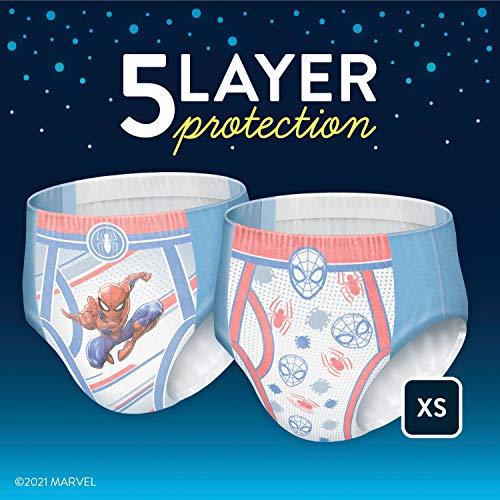 Goodnites Nighttime Bedwetting Underwear, Boys' XS (28-43 lb.), 15 Ct