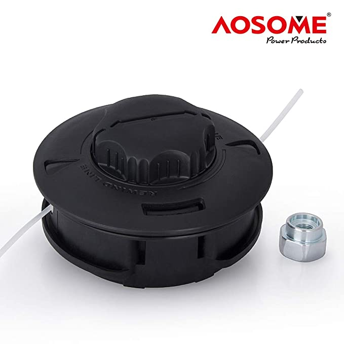 AOSOME ASSP001 Grifo y Vaya-Cabezal de 2 para Desbrozadora ...