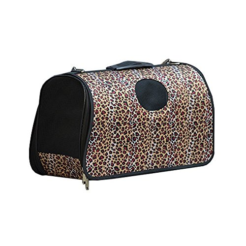 Foldable Pet Carrier - Soft Comfort Carrier Travel Bag House Kennel for Cat Dog Pets Up to 5/9/16 lbs Color Optional and 3 Sizes