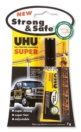UHU 39710 - Pegamento instantáneo (7 g, inodoro): Amazon.es: Oficina y papelería