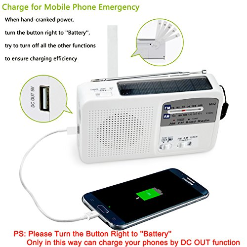 Top 10 Best Portable Radios Rechargeable Battery-powered