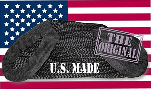 BILLET4X4 U.S. Made MIL-Grade Kinetic Energy Snatch Rope - 1 inch X 30 ft