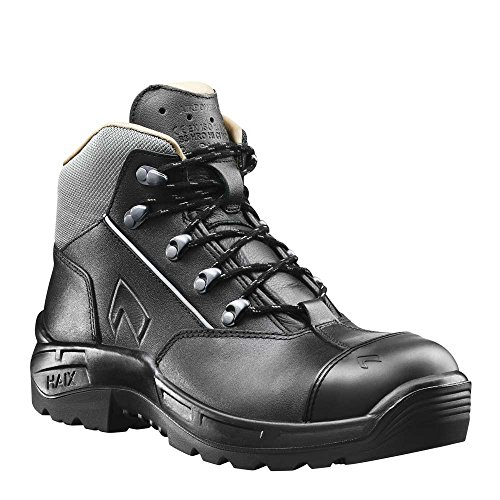 Haix Inner S3 Soft Sole Black Heat Boot Leather Outer Resistant Mid Airpower with Lining and R22 rqx1wrHSf