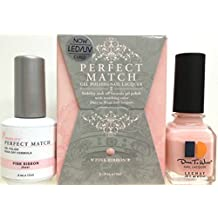 LeChat Perfect Match DUAL SET Soak Off Gel Polish and Dare to Wear Nail Lacquer - Pink Ribbon - PMS08 by CoCo-Shop
