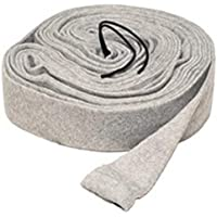 35 ft Central Vacuum Knitted Hose Sock Cover with Application Tube by LifeSupplyUSA