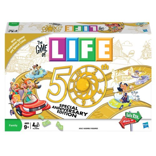 Game of Life 50th Anniversary (Life Classic Board Game compare prices)
