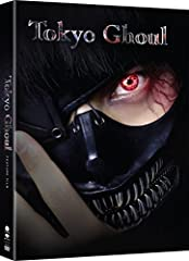 """Riddled with gripping fight scenes and tasteful gore, this adaptation of Tokyo Ghoul brings the popular manga series to life like never before. Buried in books and a quiet life, Ken Kaneki is all but dead to the world in an age where flesh-e..."