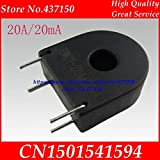 Fevas 5PCS /lot,20A/20mA Micro Precision Current Transformer Current Sensor