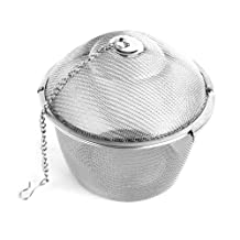 iHappy Large Stainless Steel Kitchen Tea Ball Strainer Mesh Infuser Filter Spice 11cm