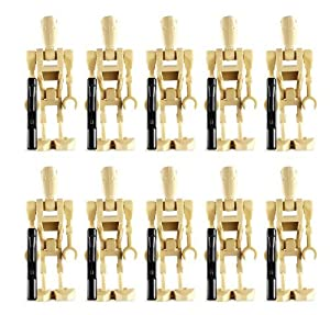 Amazoncom LEGO Star Wars Battle Droid pack of 10 minifigures
