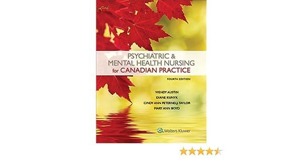 Psychiatric Mental Health Nursing For Canadian Practice Kindle