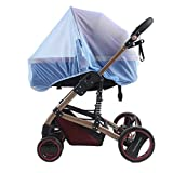 Baby Mosquito Net for Strollers Carriers Car Seats Cradles Cribs Bassinets Playpens Portable Durable Insect Netting Provides Protection Bed Carriage Insect Bee Bug Net Carrycots Pushchairs Prams