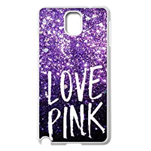 Love Pink Classic Personalized Phone Case for Samsung Galaxy Note 3 N9000,custom cover case ygtg568408