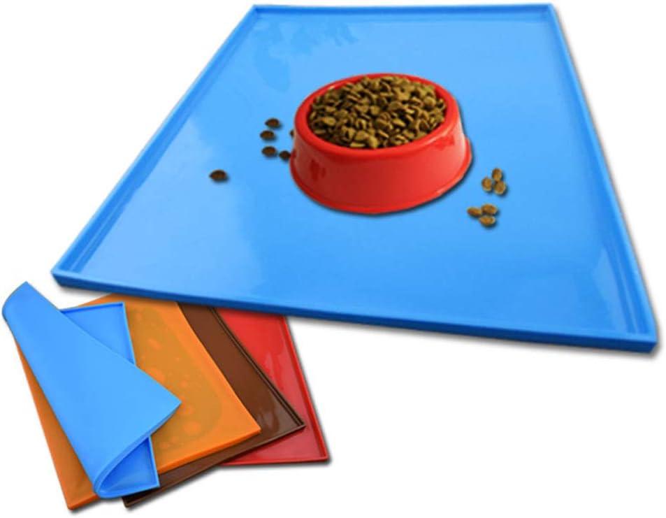 gatti e animali domestici Morehappy7 Coffee in silicone impermeabile e antiscivolo Taglia libera qualit/à certificata dall/'agenzia FDA statunitense Tappetino sottociotola per cani