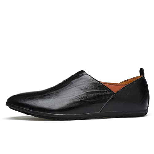 Minitoo Men's Cap-Toe Lightweight Casual Spring/Summer Loafers:  Amazon.co.uk: Shoes & Bags