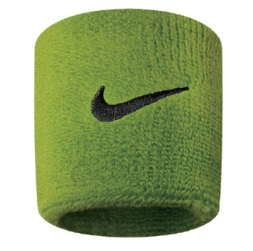 Nike Swoosh Wristbands (Atomic Green/Black, -