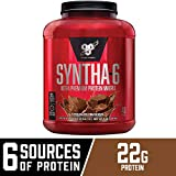 BSN SYNTHA-6 Whey Protein Powder, Micellar Casein, Milk Protein Isolate