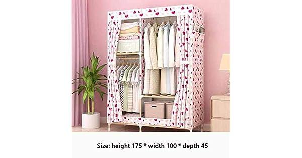 Amazon.com: YUNXIAOHONG Armario de almacenamiento plegable ...