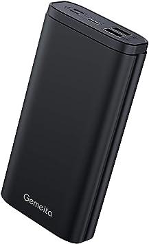 Gemeita Batería Externa, 20000mAh Power Bank Cargador Portátil de ...
