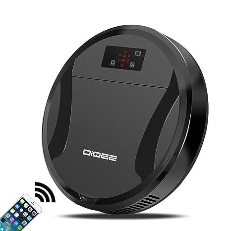 Robot Aspirador WiFi - Robot Aspirador con Tecnología Infrarroja, Sensores Anticaída, Programable con 4