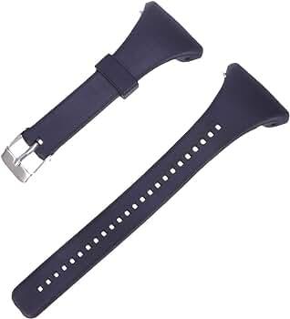 NICERIO Correa de Reloj Compatible con Polar FT4/FT7 - Correa de Repuesto de Plástico Correa de Muñeca de Liberación Rápida Correa de Recambio para Hombres y Mujeres (Negro): Amazon.es: Relojes