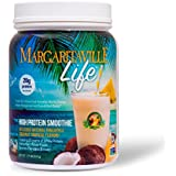 Margaritaville Life Tropical Smoothie Mix Protein Powder, 1.27 lbs - Made with Real Coconut & Pineapple - Delicious Taste, Whole Food Nutrients, Vitamins & Antioxidants - Non GMO, Vegan, Gluten Free