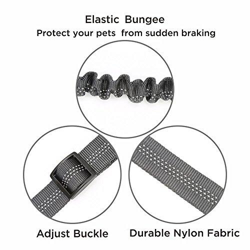 dog seat belt - 2 pack adjustable car harnesses