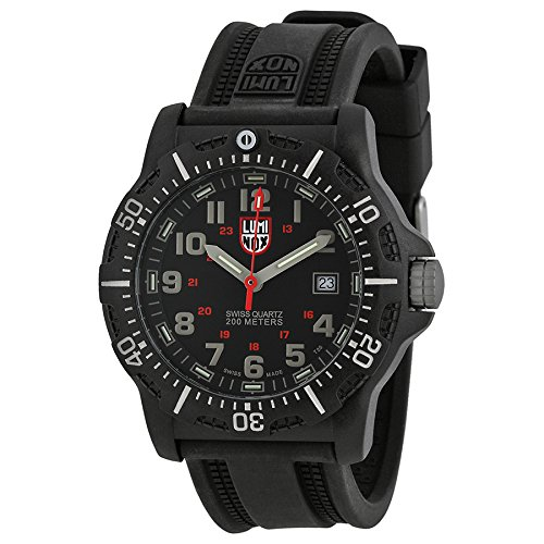 Luminox Black Dial Black Rubber Strap Mens Watch 8813.LM