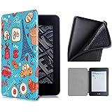 Capa Kindle 10ª geração com iluminação embutida – Auto Hibernação – Fecho Magnético – Silicone - France