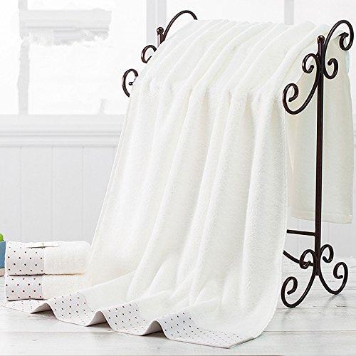 DANCICI Weiche Flusen Haar erwachsene Männer Damen superabsorbierenden Mikrofaser Badehandtuch Handtuch, grün