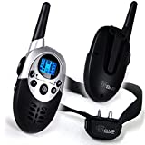 Cujo Control Dog Training Collar CC-710A-New & Improved Bright Backlight And Longer Range-Shock Vibration Correction Sound Mode-Electric E Collar-Remote-Wireless Rechargeable For Sale