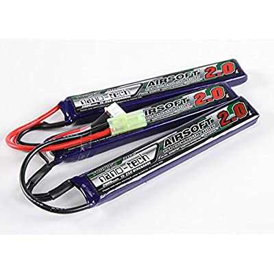 Turnigy Nano-tech 2000mah 3S 15~25C Lipo Airsoft Pack: Toys & Games